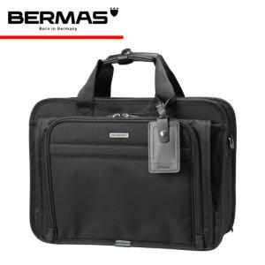 バーマス BERMAS ブリーフケース ファンクションギアプラス 60434 ブラック  FUNCTION GEAR PLUS 2WAY 2層 キャリーオン可能