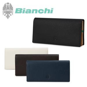 最大1000円OFFクーポン ビアンキ Bianchi 長財布 1005 フランコ  束入れ 札入れ レザー|richard