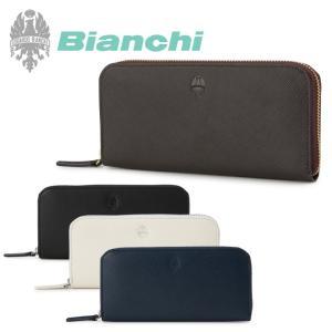 最大1000円OFFクーポン ビアンキ Bianchi 長財布 1006 フランコ  束入れ 札入れ レザー ラウドファスナー|richard
