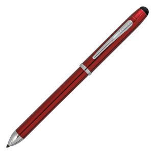 テックスリープラス:黒、赤2色のボールペンと0.5mmペンシルに加え、タッチパネルに対応したスタイラ...