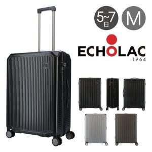 エコーラック スーツケース ショーグン 67L 47cm 3.9kg  PC148-24 ECHOLAC   ハード ファスナー   TSAロック搭載 richard