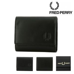 フレッドペリー 三つ折り財布 ミニ財布 レザーコンパクトウォレット メンズ F19917 FRED ...