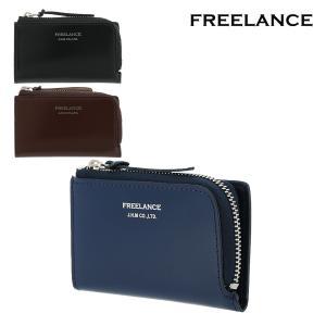 フリーランス キーケース 小銭入れ メンズ FL-099 FREELANCE | L字ファスナー 本革 レザー ブランド専用BOX付き [PO5]|richard