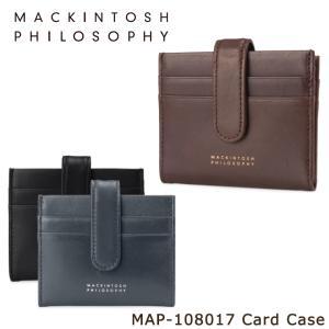 最大1000円OFFクーポン マッキントッシュフィロソフィー MACKINTOSH PHILOSOPHY カードケース map108017 グレンオード  カードホルダー メンズ レザー|richard