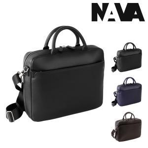 NAVA design ブリーフケース 2WAY ミラノ メンズ MI083 ナヴァデザイン MILANO | ビジネスバッグ ショルダーバッグ PCケース 14インチ 本革 [PO10]|richard
