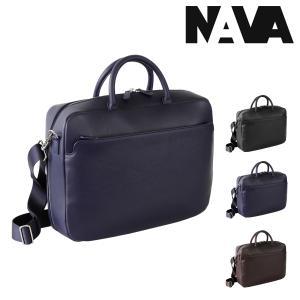 NAVA design ブリーフケース 2WAY A4 ミラノ メンズ MI084 ナヴァデザイン MILANO | ビジネスバッグ ショルダーバッグ PCケース 15インチ 本革 [PO10]|richard