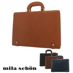 ミラショーン ブリーフケース メンズ 日本製 ニュートレノ 299551 milaschon ビジネスバッグ A4 本革 レザー [PO10] richard