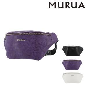 ムルーア ウエストポーチ クロコ レディース MR-B754 MURUA | ウエストバッグ|richard