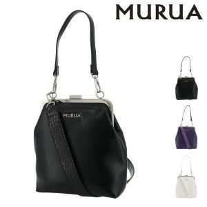 ムルーア ショルダーバッグ クロコ レディース MR-B755 MURUA | ガマ口|richard