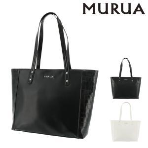 ムルーア トートバッグ 肩掛け クロコ レディース MR-B757 MURUA A4|richard