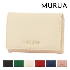ムルーア 名刺入れ シンプル レディース MR-W814 MURUA | カードケース|richard