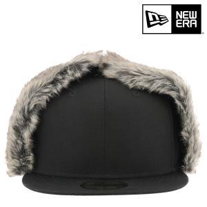 ニューエラ キャップ 59FIFTY Dog Ear メンズ レディース NEW ERA|帽子 耳あて 防寒 イヤーフラップ ファー|richard