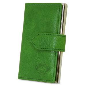 最大1000円OFFクーポン オロビアンコ カードケース OBCS-004 GR グリーン  IDケース 名刺入れ パスケース|richard