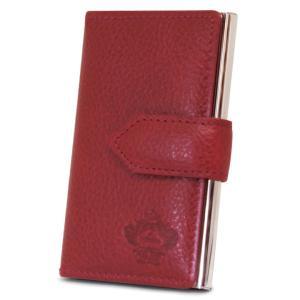 最大1000円OFFクーポン オロビアンコ カードケース OBCS-004 RD レッド  IDケース 名刺入れ パスケース|richard