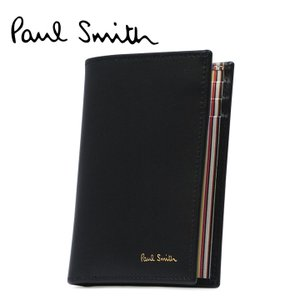 最大1000円OFFクーポン ポールスミス Paul smith カードケース ASXC 4774 W761  レザー カードウォレット クレジットカードケース メンズ richard