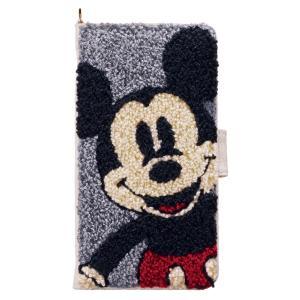 ミッキーマウス Mickey Mouse iPhoneX ケース サガラ ミッキーマウス iP8-DN06 アイフォン スマホケース ディズニー 手帳型 カード収納 ミラー付 [PO10]|richard