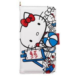 ハローキティ Hello Kitty マルチスマホケース SMC-KT09 スマホケース マルチ対応 手帳型 サンリオ レディース [PO10]|richard