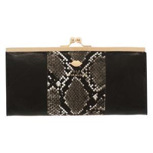 スパイラルガール 長財布 がま口 ブライド レディース  7707351 SPIRALGIRL   ブランド専用BOX付き パイソン柄 richard