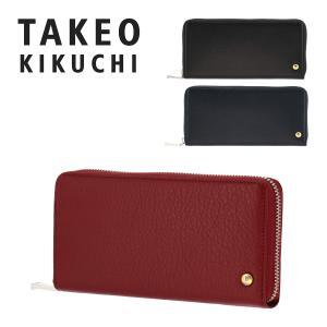タケオキクチ 長財布 ラウンドファスナー メンズ バグッタ 719606 TAKEO KIKUCHI 本革 レザー [PO5]|richard
