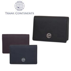 トランスコンチネンツ TRANS CONTINENTS 名刺入れ TC-107516  カモシリーズ カードケース メンズ レザー  [PO5]|richard