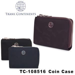 トランスコンチネンツ TRANS CONTINENTS 小銭入れ TC-108516  カモシリーズ コインケース ラウンドファスナー メンズ レザー [PO5]|richard