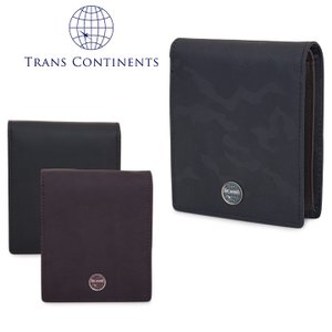 トランスコンチネンツ TRANS CONTINENTS 二つ折り財布 TC-109516  カモシリーズ 財布 メンズ レザー  [PO5]|richard