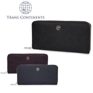トランスコンチネンツ TRANS CONTINENTS 長財布 TC-113016  カモシリーズ ラウンドファスナー 財布 メンズ レザー  [PO5]|richard