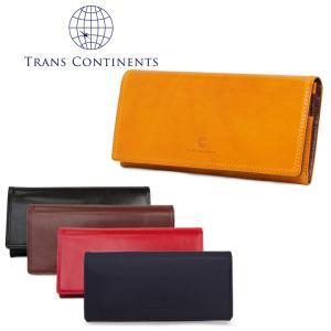 トランスコンチネンツ TRANS CONTINENTS 長財布 TC-313016  イタリーレザーシリーズ 札入れ メンズ レザー  [PO5]|richard