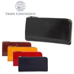 トランスコンチネンツ TRANS CONTINENTS 長財布 TC-315026  イタリーレザーシリーズ L字ファスナー 札入れ メンズ レザー [PO5]|richard