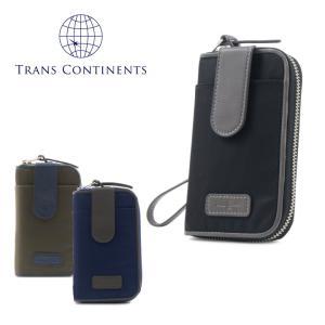 トランスコンチネンツ TRANS CONTINENTS マルチウォレット TC-409016 コンフォートシリーズ  ラウンドファスナー パスケース マルチケース 財布 小銭入れ [PO5]|richard