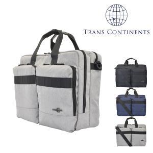トランスコンチネンツ ビジネスバッグ A4 3WAY メンズ TC-4893 TRANS CONTINENTS | ブリーフケース リュックサック ショルダーバッグ キャリーオン|richard