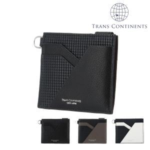 トランスコンチネンツ 財布 ミニ財布 ジェットセッター メンズ  TC-6069119 TRANS CONTINENTS | ブランド専用BOX 本革 レザー 撥水|richard