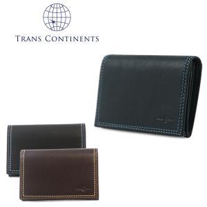 トランスコンチネンツ TRANS CONTINENTS 名刺入れ tc507516  カラーコーディネートシリーズ カードケース メンズ レディース ユニセックス レザー [PO5]|richard