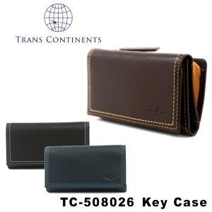 トランスコンチネンツ TRANS CONTINENTS キーケース tc508026  カラーコーディネートシリーズ レザー メンズ レディース ユニセックス [PO5]|richard