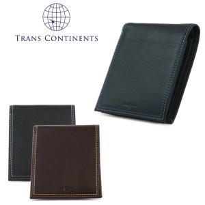 トランスコンチネンツ TRANS CONTINENTS 二つ折り財布 tc512016  カラーコーディネートシリーズ 財布 メンズ レディース ユニセックス レザー [PO5]|richard