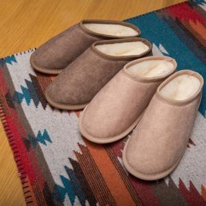 オーストラリアの羊毛メーカー・オウスウール社自慢の 「メリノンのスリッパ」  スライバーニッティング...