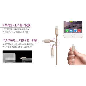 iPhoneケーブル 1.2m ライトニングケーブル Apple 認証 MFi 急速 充電 データ転送 ケーブル iPhone iPad AirPods PHILIPS ブランド|richgo-japan|04