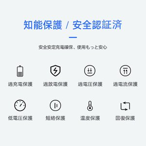 モバイルバッテリー 機内持ち込み可能 大容量 10000mAh 急速充電 薄型 軽量 安心 安全 PSE適合品 Type-C 入力搭載 送料無料 PHILIPS ブランド 正規販売店|richgo-japan|12