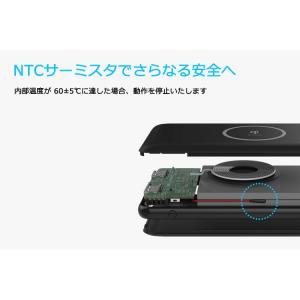 Qi ワイヤレス 充電 モバイルバッテリー 大容量 10000mAh iPhone Android 急速充電 USB ポート 搭載 QI正規認証品 送料無料 PHILIPS ブランド|richgo-japan|08