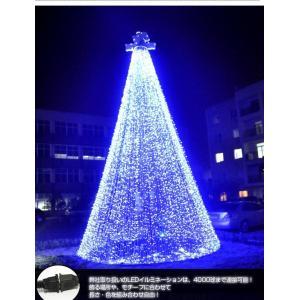 LED イルミネーション 35M 1000球 連結可クリスマスライト 点灯パターン多数8モード点滅切替 3色選択可能   防水防滴仕様|richgroupled