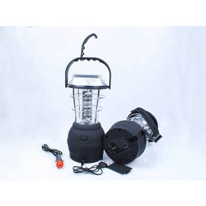 5WAY充電!セーブ・インダストリー 36LEDキャンピングランタン  LEDライト 手回し充電 ソーラー充電 アウトドア用品|richgroupled