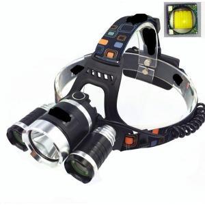 防水 3led強力ヘッドライト/CREE T6 LED 1800LM 4段階点灯SOS|richgroupled