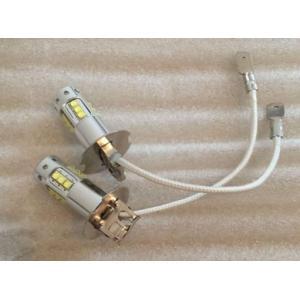 【メールで送料無料】Cree製 80W H3 LED フォグランプ 12V/24V兼用 ホワイト 2個セット richgroupled