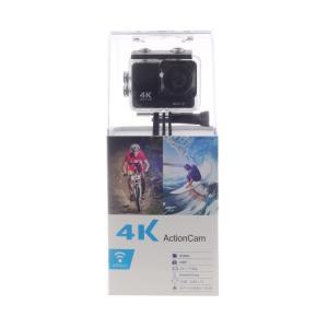 SAC4K アクションカメラ WiFi搭載 1600万画素 30M 防水カメラ 170度広角 レンズ画角調節可能 HDMI出力 複数アクセサ|richies-shop