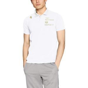 デサント タフポロライト ポロシャツ MOVESPORTS DMMLJA72 メンズ ホワイト 日本...