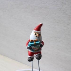 ミニチュアフレンチオーナメント/ギフトフォーユーサンタピックS/雪・メリークリスマス・ホーリーナイト・くま・置物/ギフト対応/3営業日以内に発送|richild