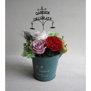 【送料無料】期間限定!ぎっしりお花が入った母の日のプリザーブドフラワーアレンジ|プリザード|richild