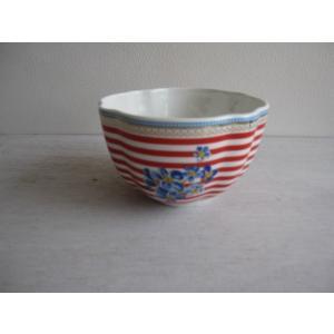 3営業日以内に発送/ギフト包装対応/リスベスダール/ボールハッピー12.5cm/Lisbeth Dahl/ストライプ・皿・デンマーク・洋食器・陶器|richild