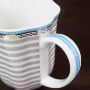 【3営業日以内に発送】【ギフト包装対応】リスベスダール マグカップ ビーチ/Lisbeth Dahl【ストライプ・ハート・ヨーロピアン・洋食器・陶器】|richild|02