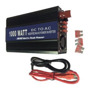 修正正弦波 1000W インバーターDC12V→AC100V 50/60Hz切替 バッテリー電源レジャー アウトドアに最適